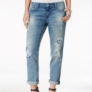 Tommy Hilfiger Ripped  Boyfriend Jeans Sz 16
